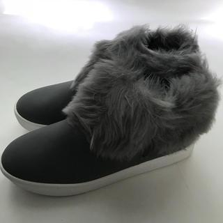 ザラ(ZARA)のLA購入モデルサイズスニーカーブーツスリッポン27cm27.5cmレディース靴(スニーカー)
