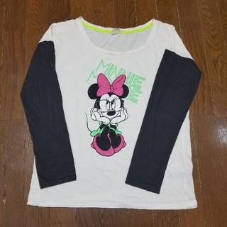 ディズニー(Disney)のミニーちゃん ロングTシャツ(Tシャツ(長袖/七分))