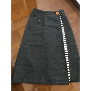 ルミノア(Le Minor)のラップスカート 膝下スカート(ロングスカート)