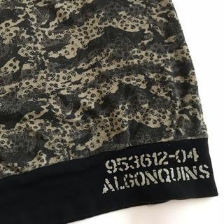 アルゴンキン(ALGONQUINS)のALGONQUINS 髑髏×ミリタリー柄 タンクトップ 訳あり(タンクトップ)