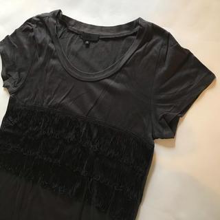 アイシービー(ICB)のiCB フリンジ付きTシャツ(Tシャツ(半袖/袖なし))