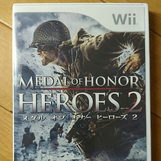 ウィー(Wii)のWiiソフト メダル オブ オナー ヒーローズ2(家庭用ゲームソフト)