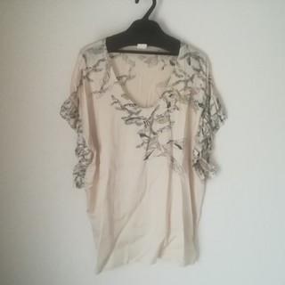 アーモワールカプリス(armoire caprice)のシルクインポートトップス(カットソー(半袖/袖なし))