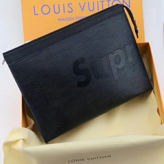 シュプリーム(Supreme)の Supreme×Louis Vuitton   クラッチバッグ メンズ 黑(セカンドバッグ/クラッチバッグ)