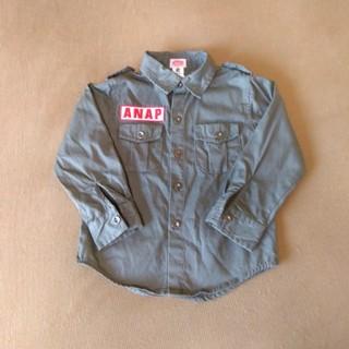 アナップキッズ(ANAP Kids)のANAP KIDS ミリタリーシャツ size100 (Tシャツ/カットソー)