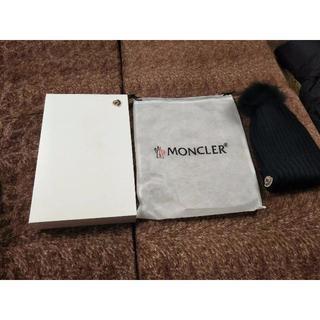 モンクレール(MONCLER)のモンクレール ニット帽子(ニット帽/ビーニー)