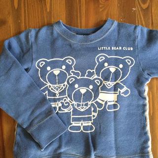 LITTLE BEAR CLUB - トレーナー 100センチ