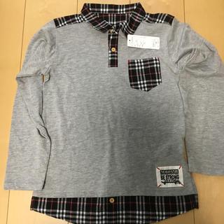 RyuRyu - 140  長袖シャツ 薄手 新品