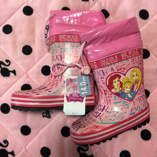 ディズニー(Disney)の新品✳︎プリンセス 長靴 レインブーツ 14㎝(長靴/レインシューズ)