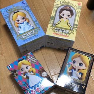 ディズニー(Disney)のフィギュア4つセット(アニメ/ゲーム)