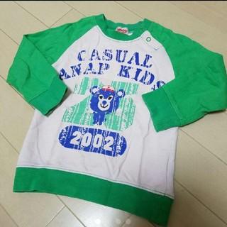アナップキッズ(ANAP Kids)のANAP kids/80cm/トレーナー/ロンT/男の子(シャツ/カットソー)