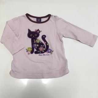 アナスイミニ(ANNA SUI mini)のANNA SUI mini ロンT 80 長袖 猫 アナスイミニ(Tシャツ)