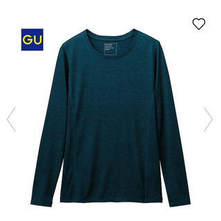 ジーユー(GU)の◻️GU◻️ 美品♪ リブコンビクルーネックT M(Tシャツ(長袖/七分))