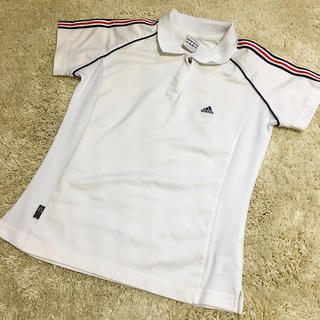 アディダス(adidas)のadidas テニスウェア 襟付き レディース(ウェア)