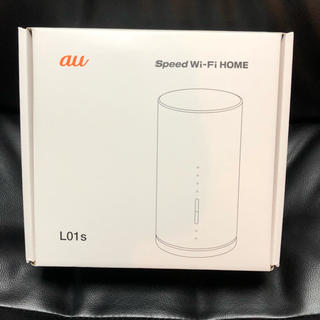 エーユー(au)のau speed wi-fi home L01s(その他)