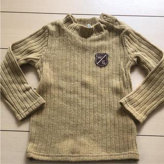 シャマ(shama)の未使用  SHAMA JEANS タートル ニット 長袖 80サイズ 90サイズ(ニット)