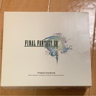 スクウェアエニックス(SQUARE ENIX)の「FINAL FANTASY XIII」ORIGINAL SOUNDTRACK…(ゲーム音楽)