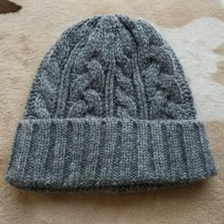ムジルシリョウヒン(MUJI (無印良品))の無印良品 ニット帽 未使用!(ニット帽/ビーニー)