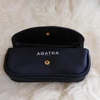 アガタ(AGATHA)のAGATHA サングラスケース 黒(サングラス/メガネ)