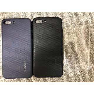 シュピゲン(Spigen)のiPhone7 Plus ケース 対応 TPU 米軍MIL規格取得 耐衝撃(iPhoneケース)