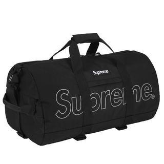 シュプリーム(Supreme)のシュプリーム 国内正規品 Duffle Bag Black 新品(ボストンバッグ)