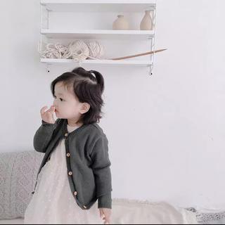 キャラメルベビー&チャイルド(Caramel baby&child )のくすみカーディガン(カーディガン/ボレロ)