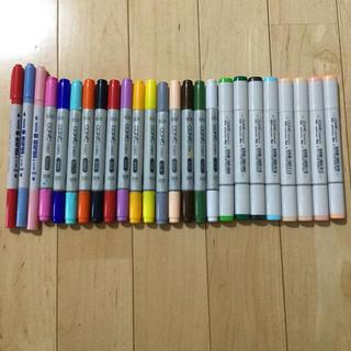 ツゥールズ(TOOLS)のコピック ネオピコ 合わせて25本(カラーペン/コピック)