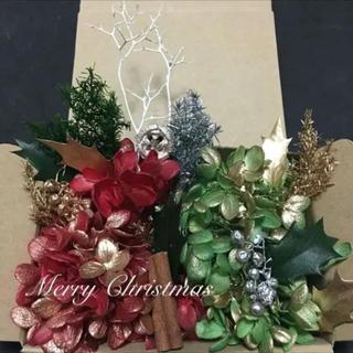 クリスマス花材BOX あじさい