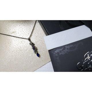 ジゴロウ(GIGOR)の正規 ジゴロウ フロップペンダントネックレス プラントアートクロス×SVチェーン(ネックレス)