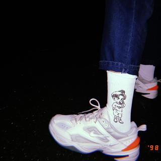 エクストララージ(XLARGE)のX large靴下 トランクス 白(ソックス)
