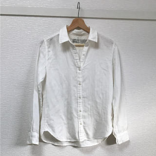 ムジルシリョウヒン(MUJI (無印良品))のMUJI 白シャツ 長袖(シャツ/ブラウス(長袖/七分))
