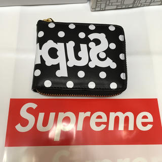 Supreme - supreme ギャルソン 財布