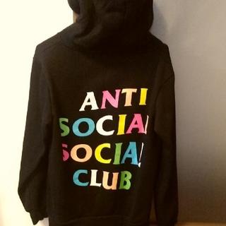 anti social social clubパーカー