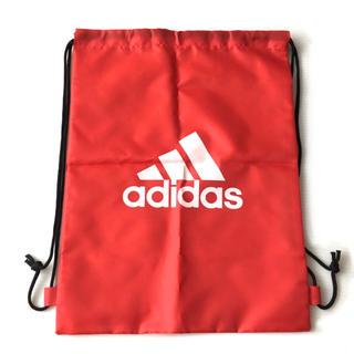 アディダス(adidas)のアディダス ナップサック /赤(リュックサック)