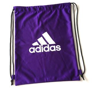 アディダス(adidas)のアディダス ナップサック /紫(リュックサック)