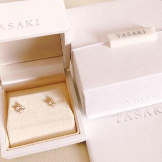 TASAKI - Tasaki ★ 現行品 ★ ダイヤモンド フラワー ピアス