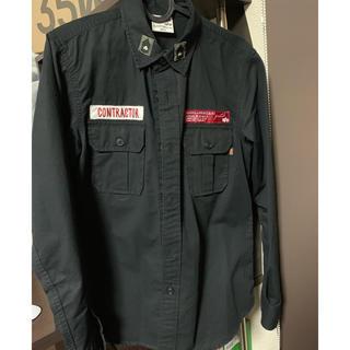 アルファ(alpha)のALPHA work shirt アルファ ミリタリーシャツ(ミリタリージャケット)