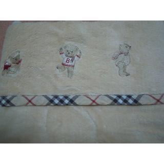 バーバリー(BURBERRY)のバーバリー国産綿毛布(毛布)