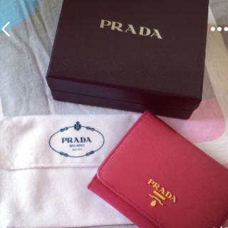 プラダ(PRADA)のあい様専用     新品未使用?PRADA プラダ サフィアーノ 三つ折り 財布(財布)