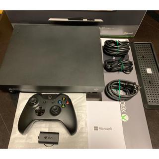 エックスボックス(Xbox)のかず29様専用!XBOX ONE X +FF15+halo(家庭用ゲーム機本体)