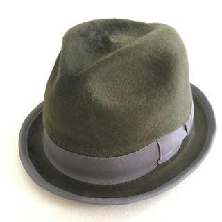 カシラ(CA4LA)の帽子 ハット 小つば チェコ産 ラビットファー Borsalino CA4LA(ハット)