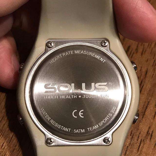 50409e2384 SOLUS(ソーラス)のSOLUS Team Sports300 心拍数測定付スポーツ腕時計 ソーラス メンズ
