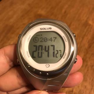 ソーラス(SOLUS)のSOLUS Team Sports300  心拍数測定付スポーツ腕時計 ソーラス(腕時計(デジタル))