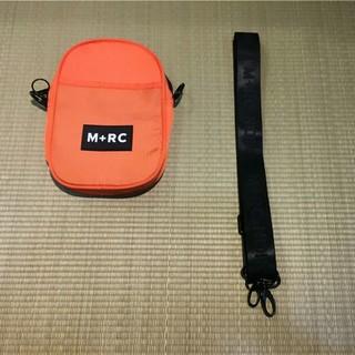 ノワール(NOIR)のM+RC NOIR ショルダーバッグ オレンジ色 未使用(ショルダーバッグ)