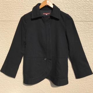 アデュートリステス(ADIEU TRISTESSE)のADIEU TRISTESSE ジャケット 黒 ブラック 36(その他)