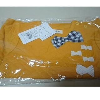 ビケット(Biquette)の新品 トレーナー 90 カラシ色 ビケット(Tシャツ/カットソー)