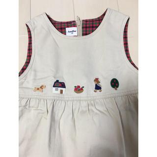 familiar - 90 ジャンバースカート