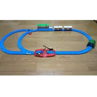 タカラトミー(Takara Tomy)のプラレール  レールセット(電車のおもちゃ/車)