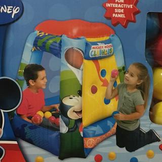 ディズニー(Disney)の新品未開封、ミッキーマウスクラブハウス、ボールハウス、ディズニー(その他)