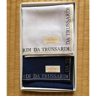トラサルディ(Trussardi)のTRUSSARDI ハンカチセット 2枚650円(ハンカチ/ポケットチーフ)